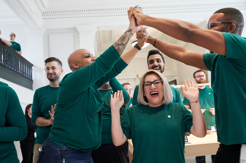 مشاغل پر در آمد در شرکت اپل