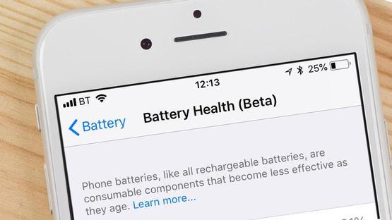سلامت باتری در نحوه بهبود افزایش عمر باتری گوشی های اپل و شارژ بیشتر