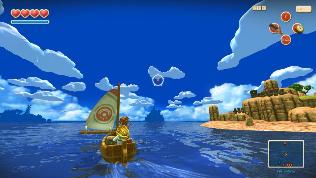 بازی جذاب وهیجان انگیز Oceanhorn در آیفون