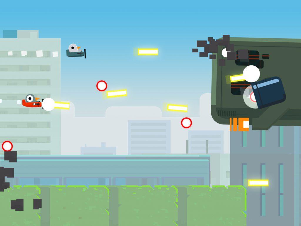 معرفی بازی سرگرم کننده جذاب و رایگان  Pigoen Wings Strike برای گوشی های آیفون