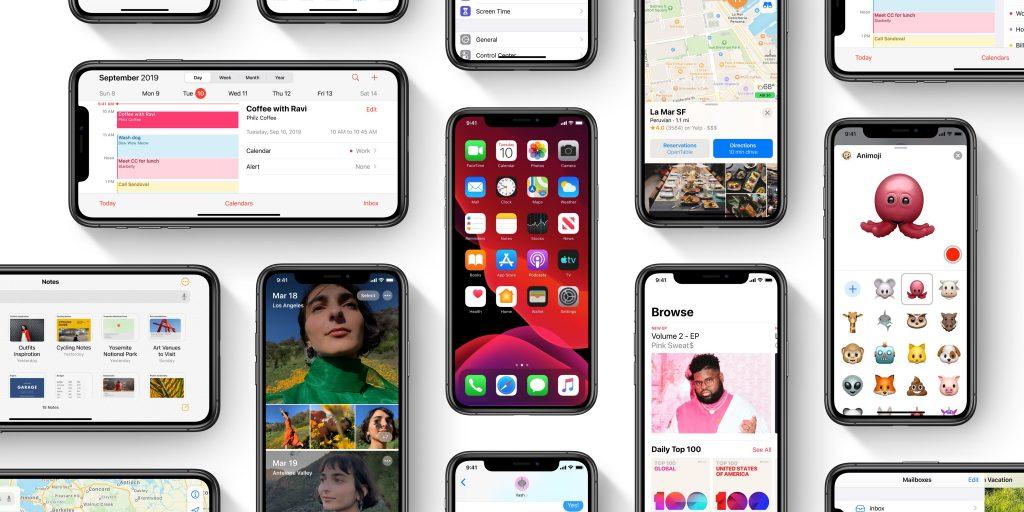 درصد استفاده از iOS13 و خرید قسطی گوشی آیفون