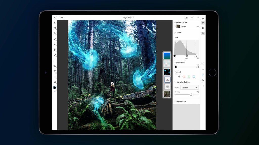 فوتوشاپ برای iPad و خرید اقساطی محصولات اپل