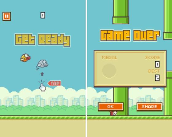 بازی Flappy Bird برای گوشی آیفون و خرید اقساطی گوشی ایفون