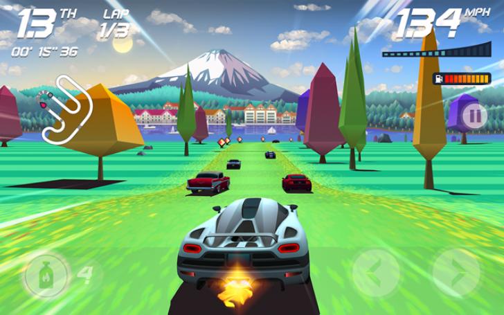 بازی Horizon Chase World Tour گوشی آیفون- خرید اقساطی محصولات اپل- بازرگانی سیب و خرید اقساطی گوشی آیفون