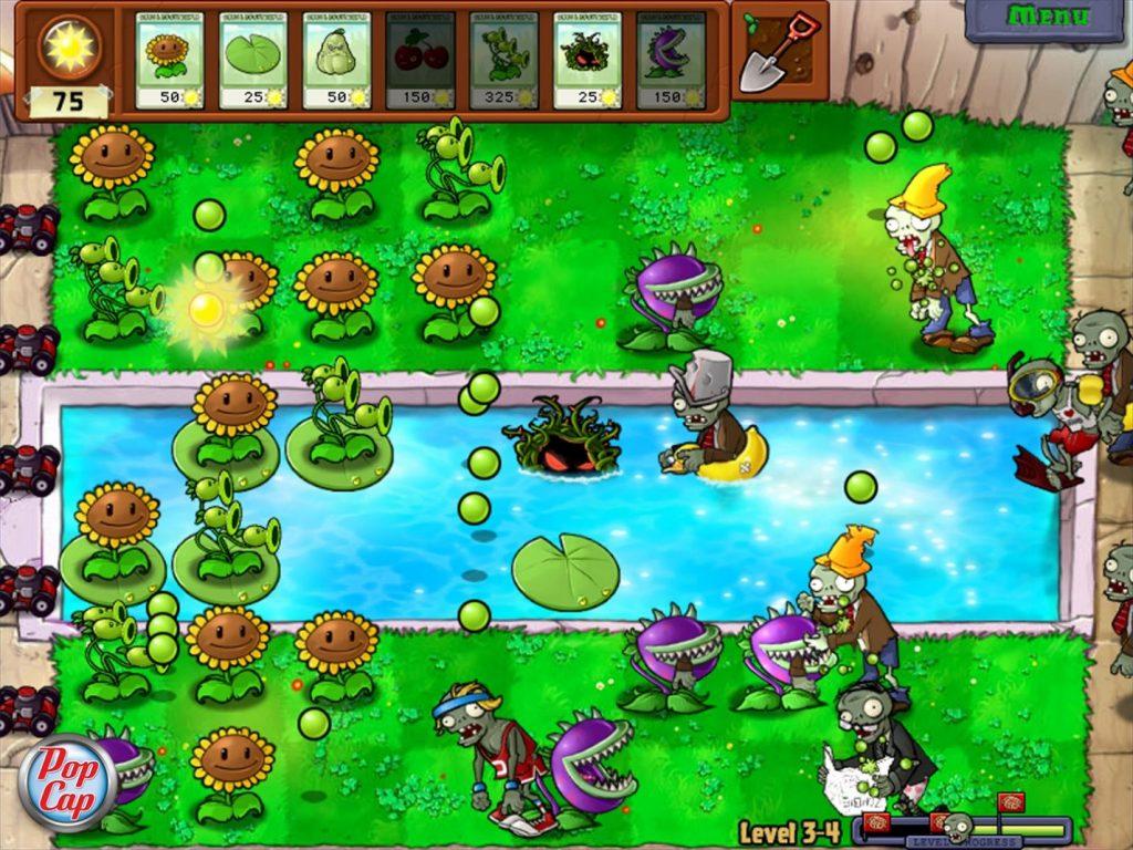 بازی Plants vs Zombies برای آیفون و خرید قسطی گوشی آیفون