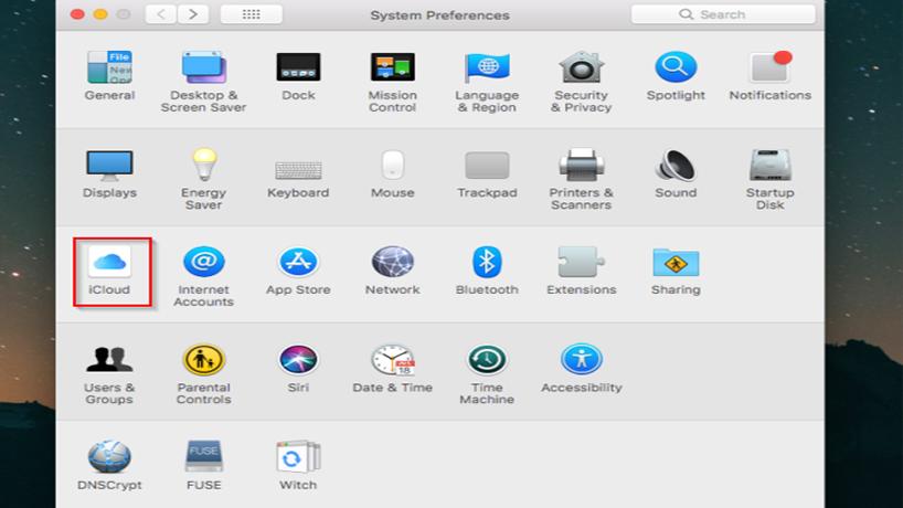 بازیابی رمز اپل ای دی در icloud