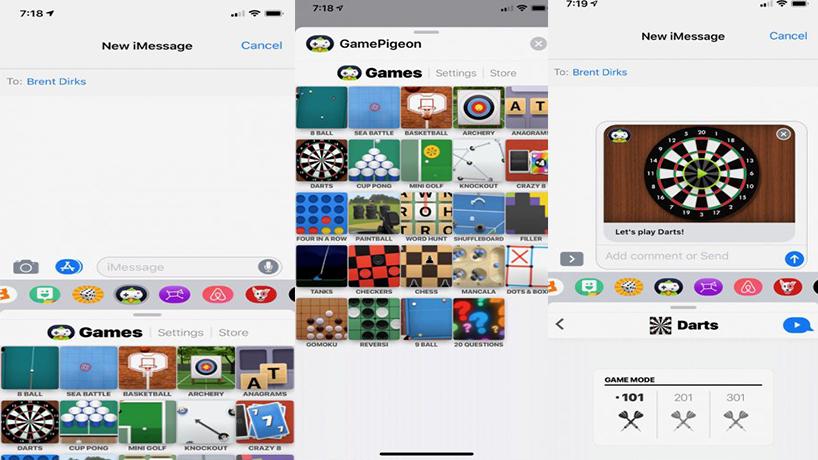 بهترین بازی برای iMessage
