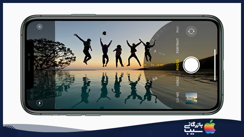 استفاده از دوربین اولترا واید آیفون 11 و 11 پرو