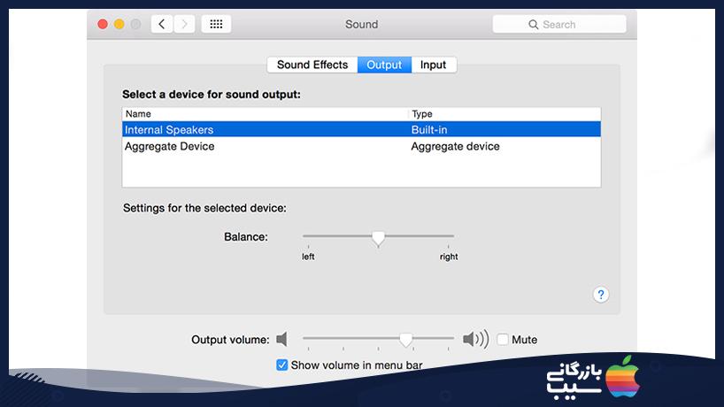 بررسی اتصال بلوتوثی رایانه در قطع شدن صدای مک بوک
