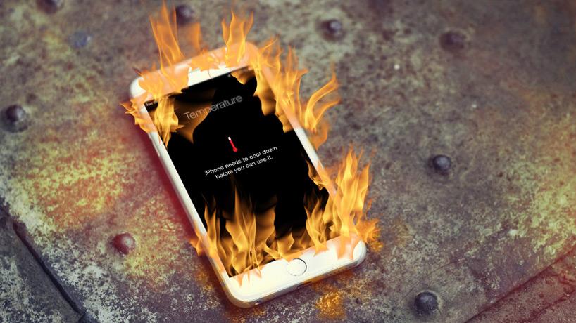 چرایی و تمام راه حل های داغ شدن آیفون