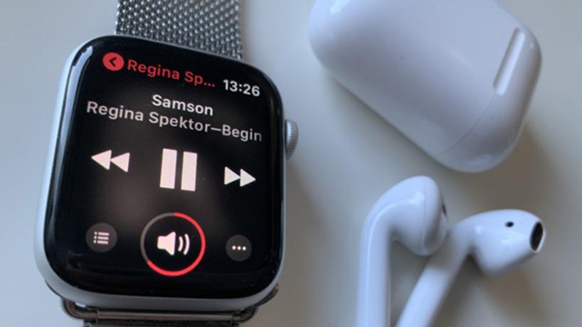 پخش موسیقی در اپل واچ
