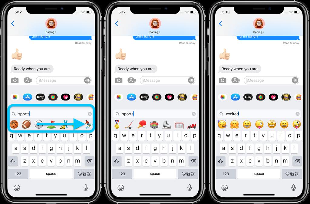 جستجوی ایموجی در iOS 14