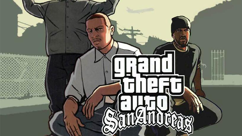 بازی GTA San Andreas برای آیفون