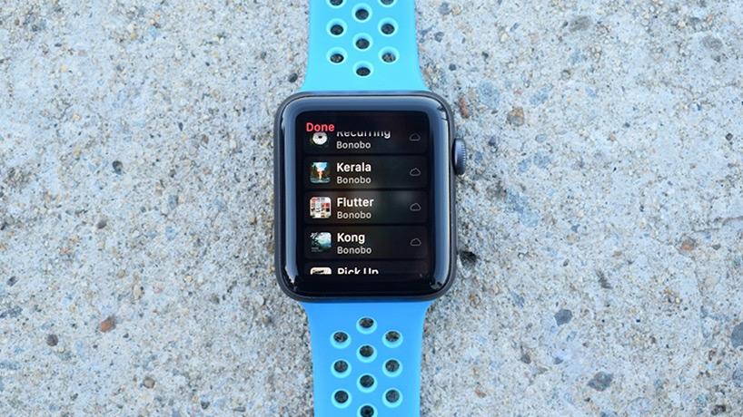 پخش موزیک در اپل واچ