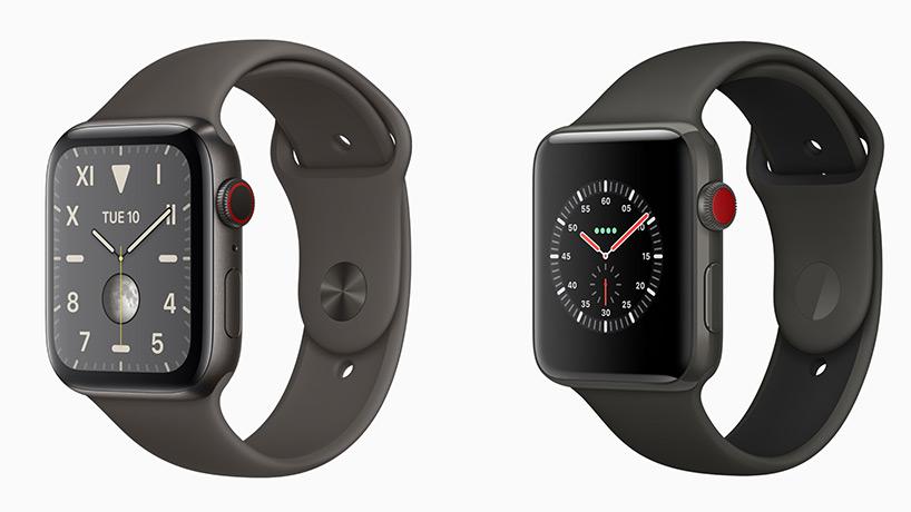 مقایسه اپل واچ سری 5 و 3