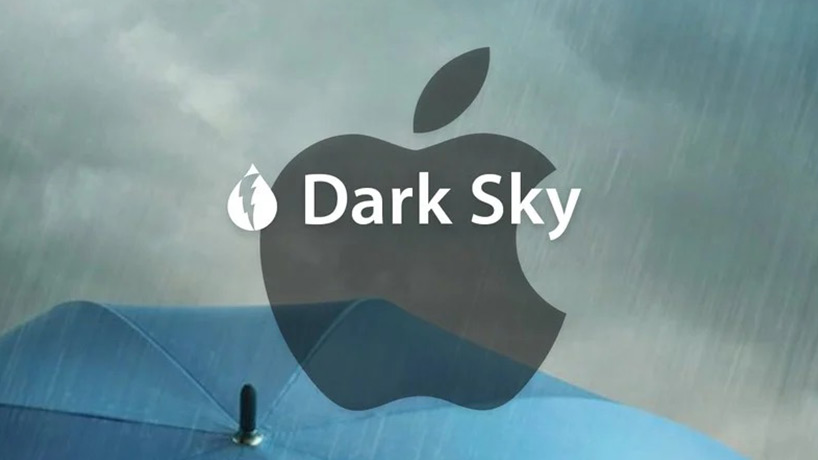 برنامه Dark Sky