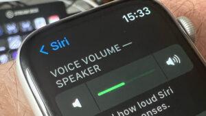 کاهش ولوم صدا در اپل واچ